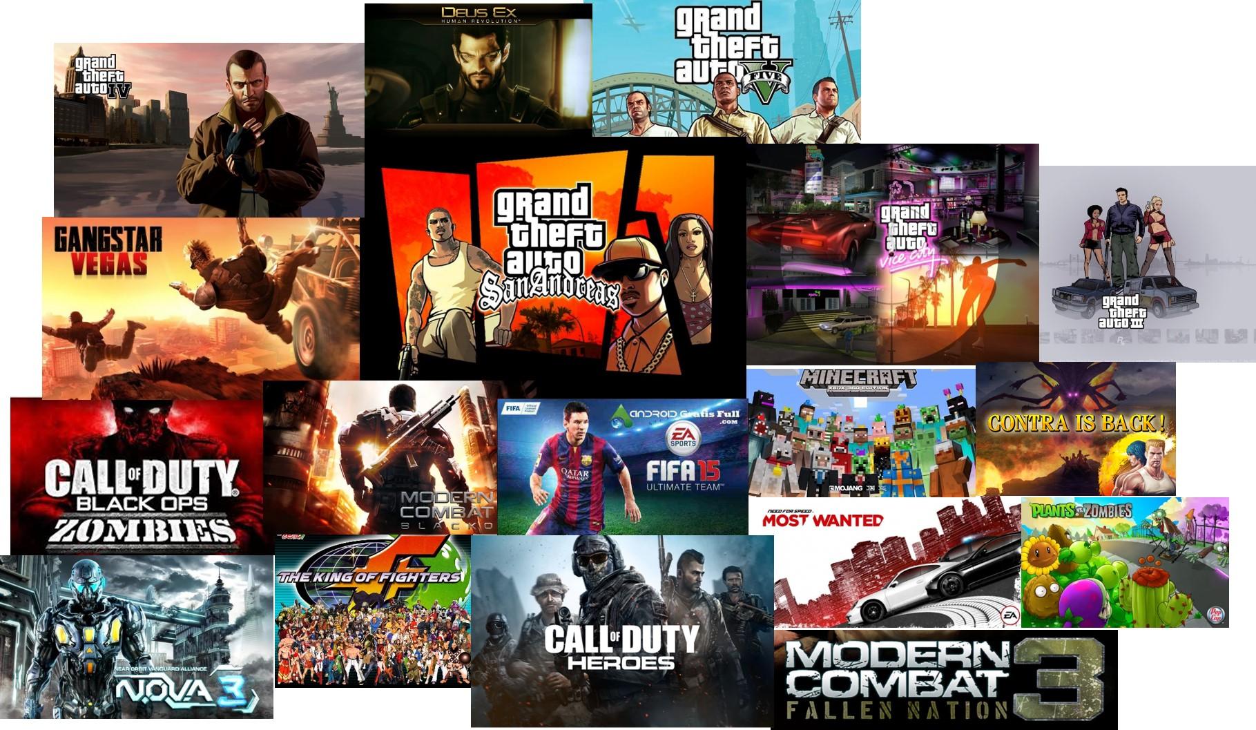 La Mejor Coleccion En Games Para Android Full Apk Las Mejores